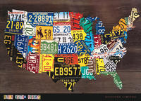 Aaron Foster - USA Map II