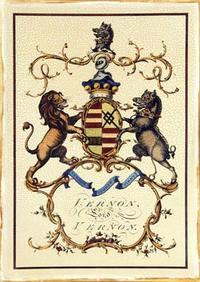 Jacobs Peerage - Crackled Lord Vernon