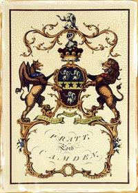 Jacobs Peerage - Crackled Lord Camden