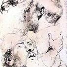 Rubens - Head and Hand Study