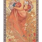 Alphonse Mucha - Eté, 1900