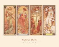Alphonse Mucha - Les Saisons, 1900