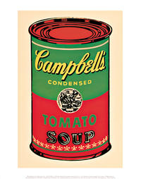 Andy Warhol - Campbell`s Soup Can (Tomato) I