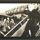 Anonymous - Marilyn Monroe, Boards Airplance, New York 1956