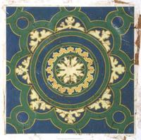 Chariklia Zarris - Antiqued Cloisonne I