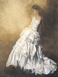Andrea Bassetti - Donna in bianco