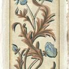 Chariklia Zarris - Crackled Italianate Panel in Blue II