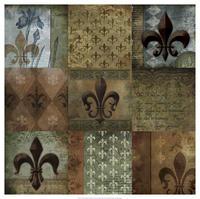 Beth Anne Creative - Fleur-de-lis 9-Patch