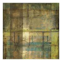 Jennifer Goldberger - Guilded Turquoise I