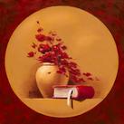 Bernadette TRIKI - Bouquet de fleurs II - 10 Stück