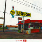 Ayline Olukman - Route 66 - West End Liquor - 10 stykker