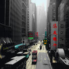 Anne Valverde - Hong Kong Tram - 10 pieces