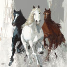 Bernard Ott - Les chevaux I