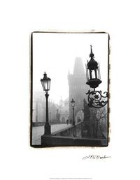 Laura DeNardo - Charles Bridge in Morning Fog I
